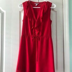 H&M Sleeveless Coral Dress